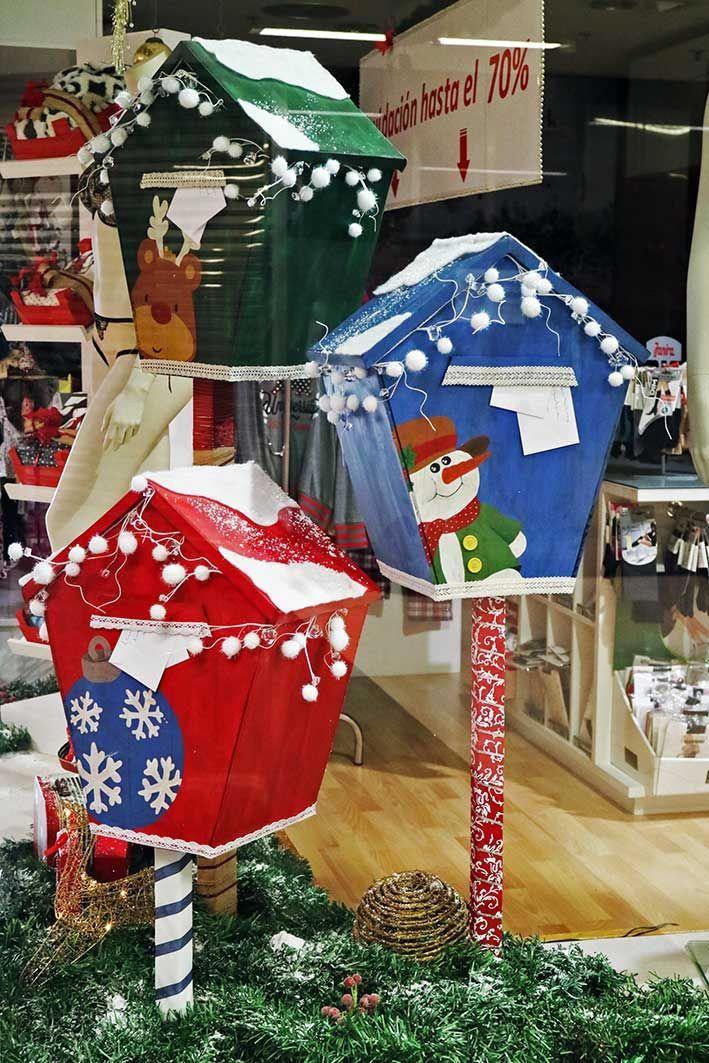 ed27a0bfab Escaparate Navidad lencería Caro Cuore (Vilagarcía de Arousa) #Feliznavidad