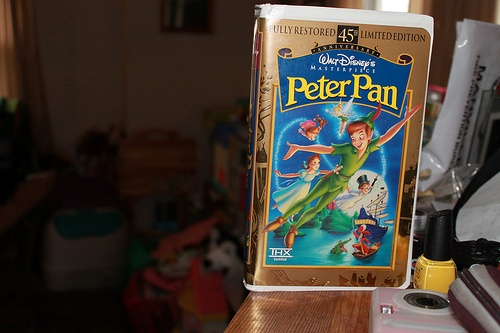 peter pan vhs oh yeaaahhh i own it