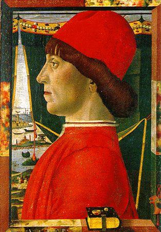 Antonio Leonelli da Crevalcore, Portrait of a Young Man, c. 1475, Venice, Correr