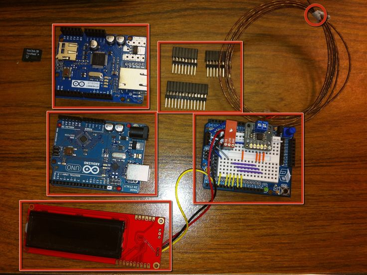 Arduino temp humidity monitor with web and snmp — diy