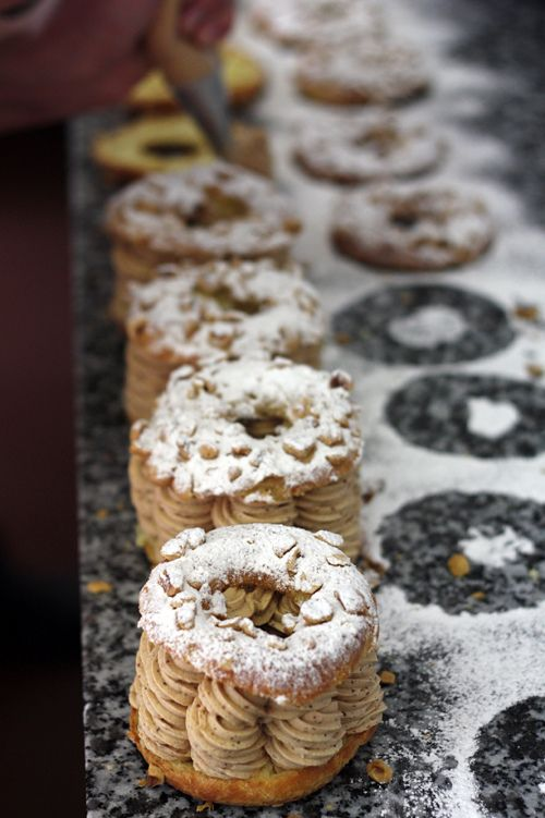 Paris-Brest, probably the best French pastry of them all... #treats
