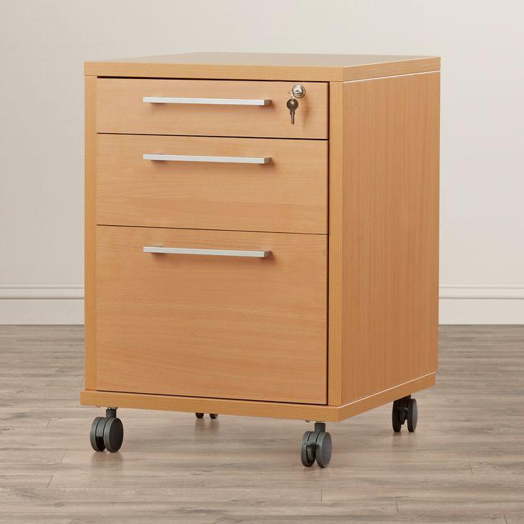 Stylish Wooden Filing Cabinets