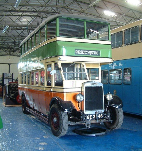 old glasgow bus