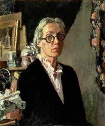 Vanessa Bell - Self Portrait, 1960 (British, 1879-1961)