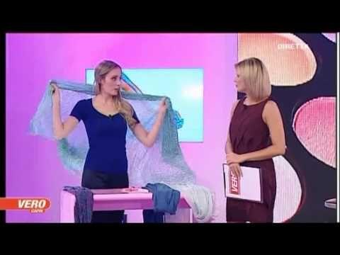 Pashmina, tanti modi per indossarla + sciarpa gilet VERO TV - A moda mia, Claudia Carducci - YouTube