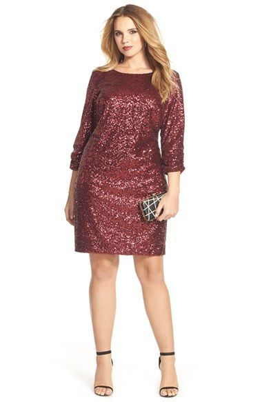 1000  ideas about Plus Size Sequin Dresses on Pinterest  Plus ...