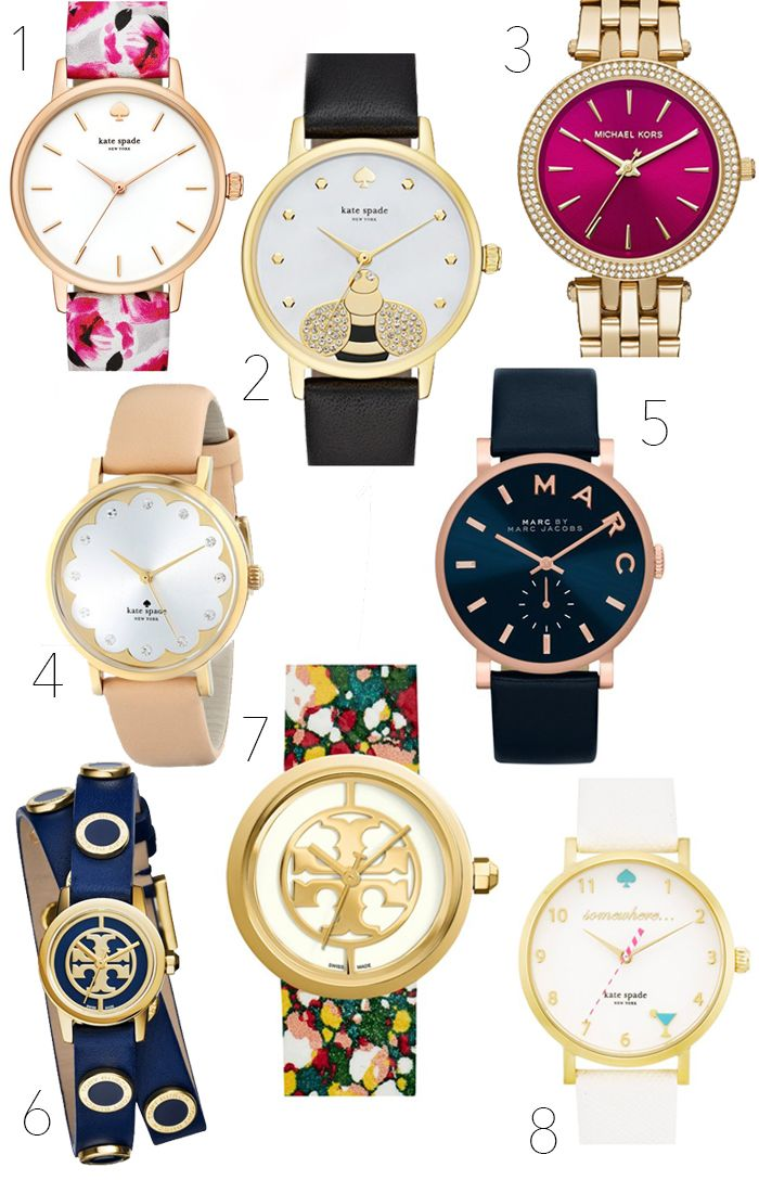 Fun Spring Watches To Spruce Up Your Work Wardrobe