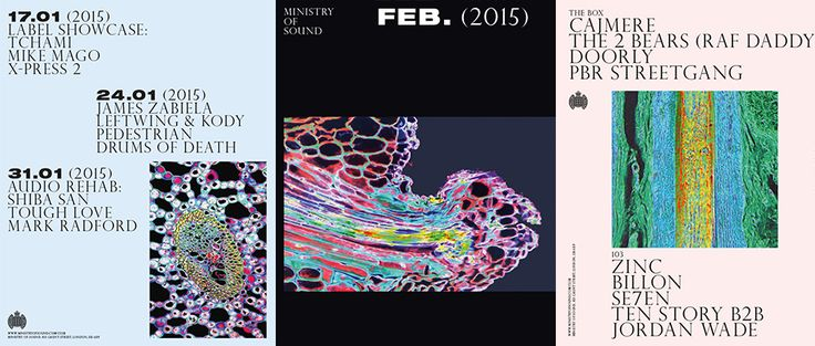 It's Nice That : We chat to Haw-Lin about its great new Ministry of Sound posters