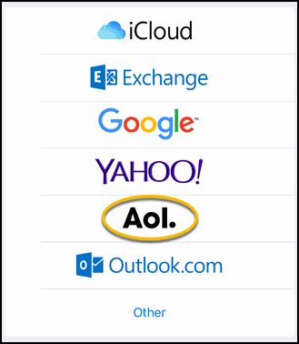Verizon Move to AOL Mail: Setting up your new AOL account in a third party email program or mobile device (IMAP)