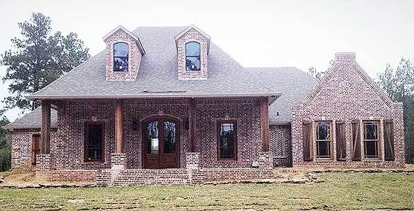 Plan 56301sm 4 Bedroom Louisiana Style Home Plan French Country