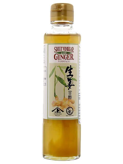 Vinaigre de gingembre confit 180 ml - Meilleur du Chef
