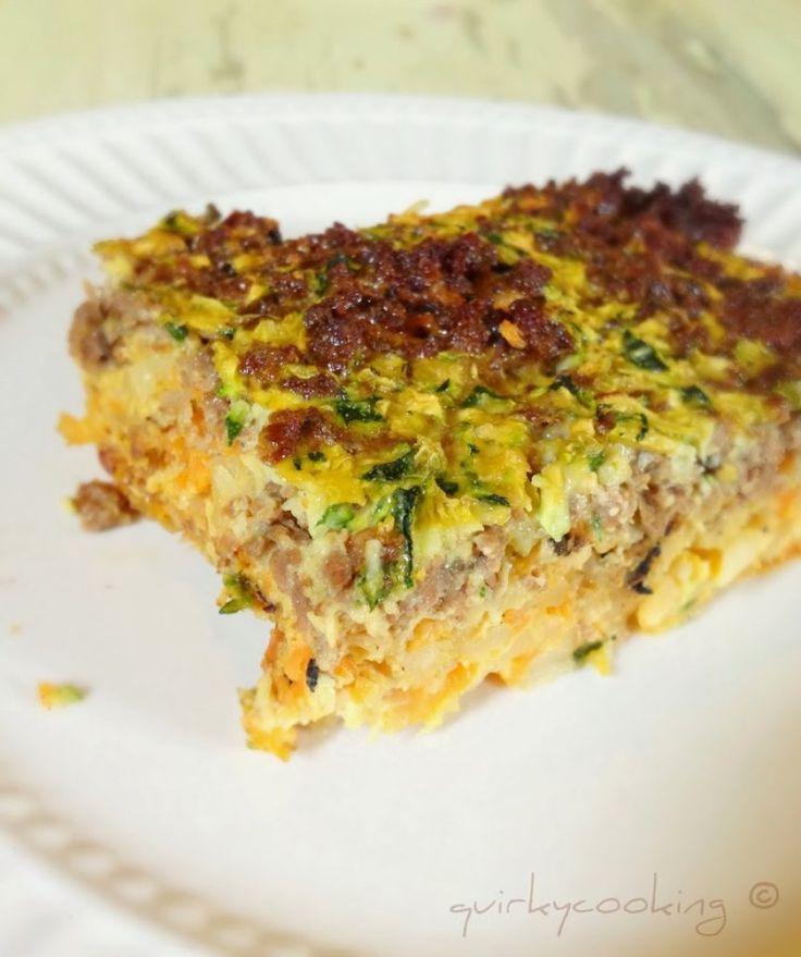 Christmas Breakfast Casserole - Quirky Cooking
