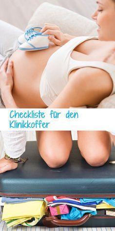 Das muss alles mit! Die große Checkliste für den Klinikkoffer: http://www.gofeminin.de/schwangerschaft/klinikkoffer-s795285.html #baby #geburtsvorbereitung