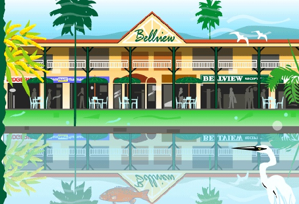 Cairns budget accommodation - The Bellview, Cairns, Queensland, Australia