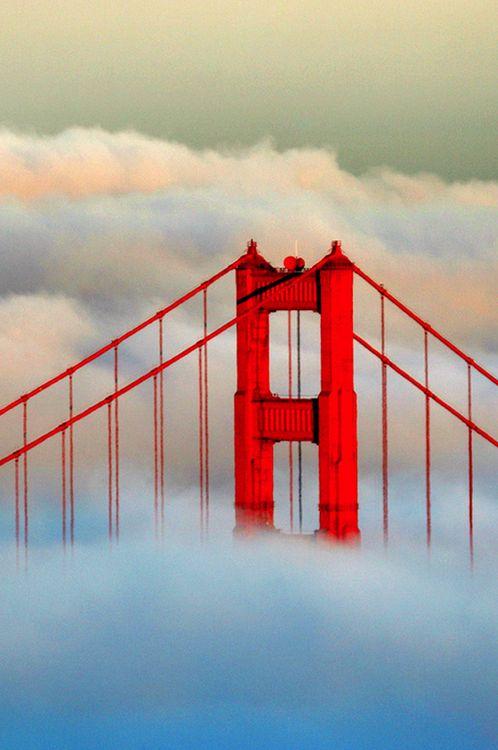 Sunseton the Golden Gate Bridge-- byRob Kroenert