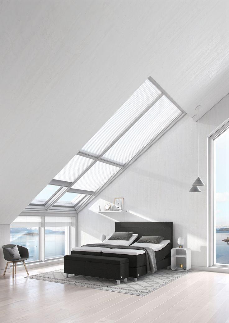 Svane Zense regulerbar seng i Nordic Black. #svaneseng #svanebed #svanezense #soverom