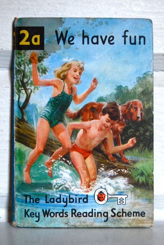 Vintage Ladybird Children's Book, 2a We Have Fun