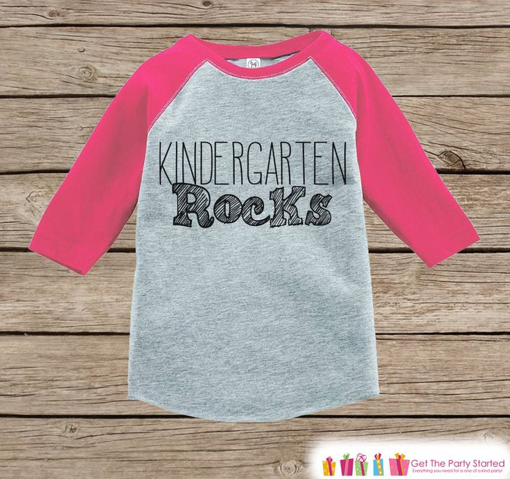 This adorable outfit is perfect for your Kindergartner! Our graphics are professionally printed directly onto the fabric for bright and vibrant designs which will last. The colors will not crack. A si