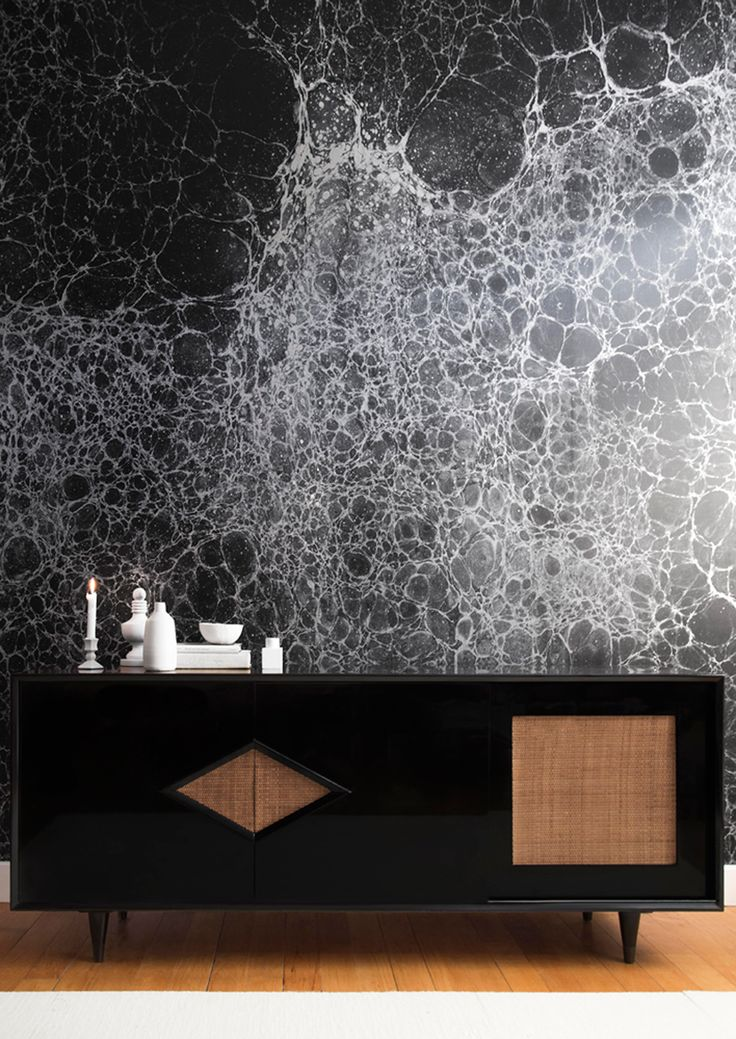 Bespoke Global - Product Detail - Lunaris - Midnight - Calico Wallpaper