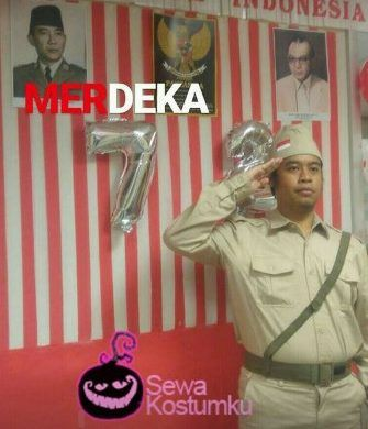 Sewa Kostum Pejuang di Jakarta 0817 661 6654