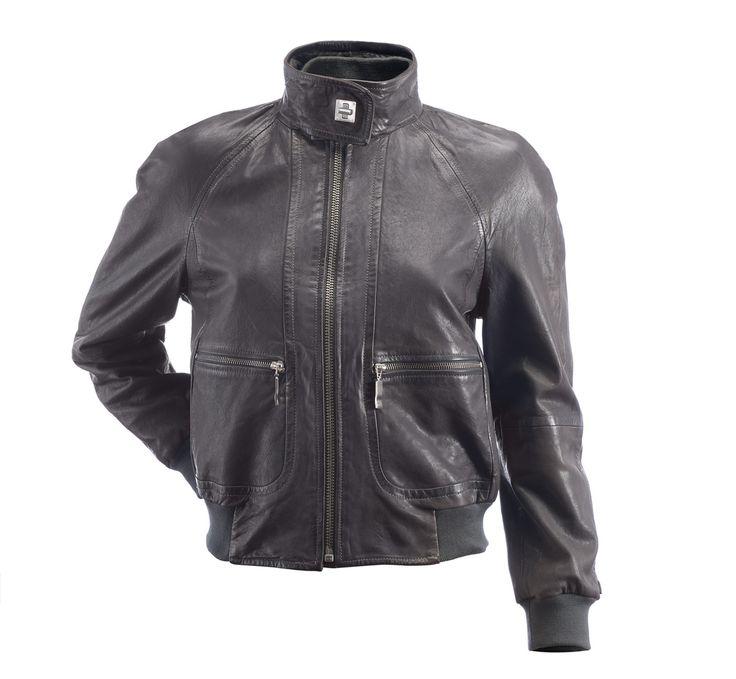 Love this leather jacked from MaxMara, via Kim Gray Lifestyle Blog