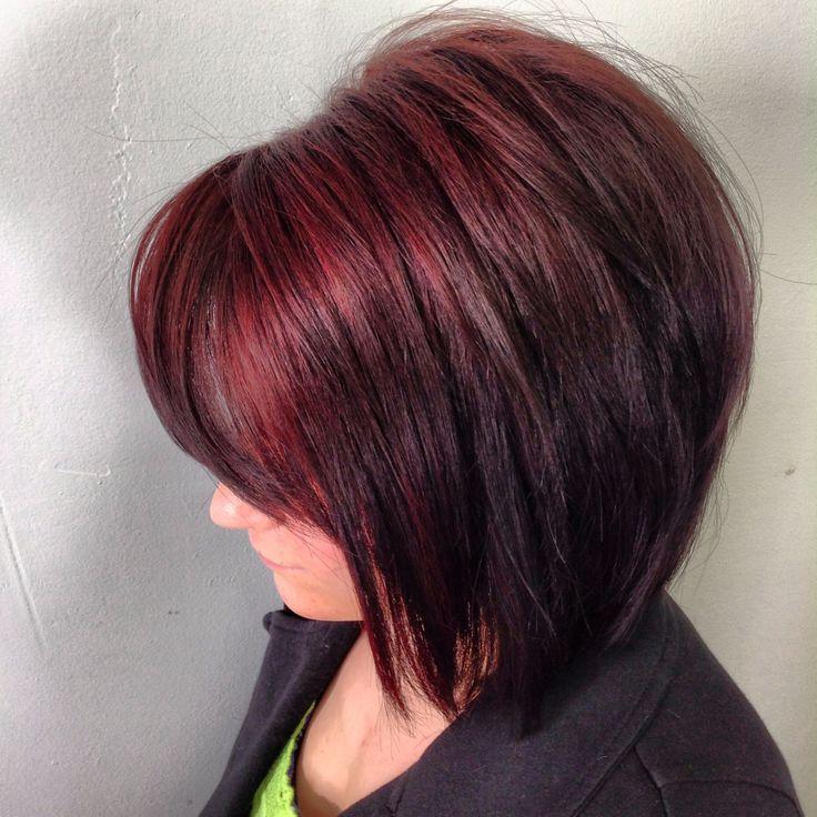 Black hair with mahogany highlights hairs picture gallery black hair with mahogany highlights pictures pmusecretfo Images