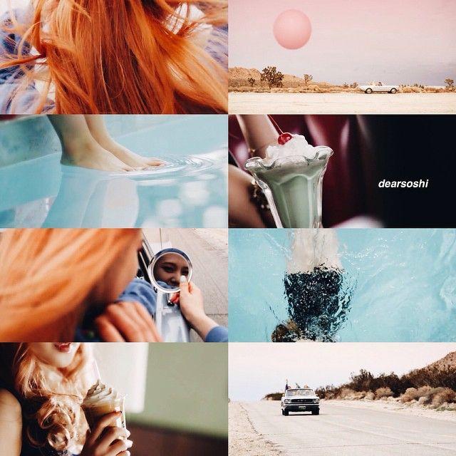 red velvet  ice cream cake | @kor.ean on instagram