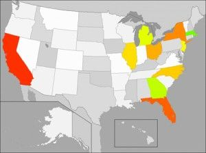 Which States Will Need Nurses Most in 2013?