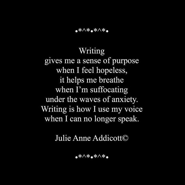 "44 Likes, 3 Comments - Julie Anne Addicott ~ Author (@demonsoulangelheart) on Instagram: ""#writing #purpose #poetry #poet #prose #author #hope #julieanneaddicott #quote"""
