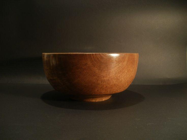 Walnut bowl by Ervin Horn