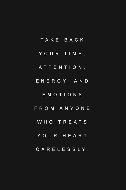 I should live by this. nobody really cares about how I feel
