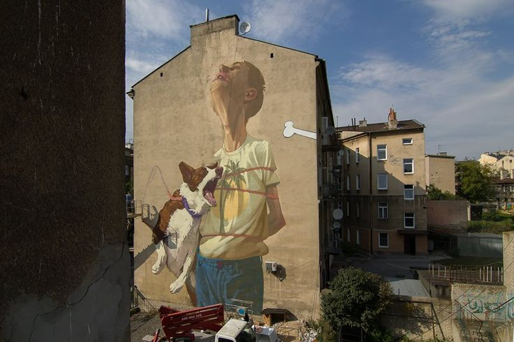 mural lublin ul. Lubartowska 57
