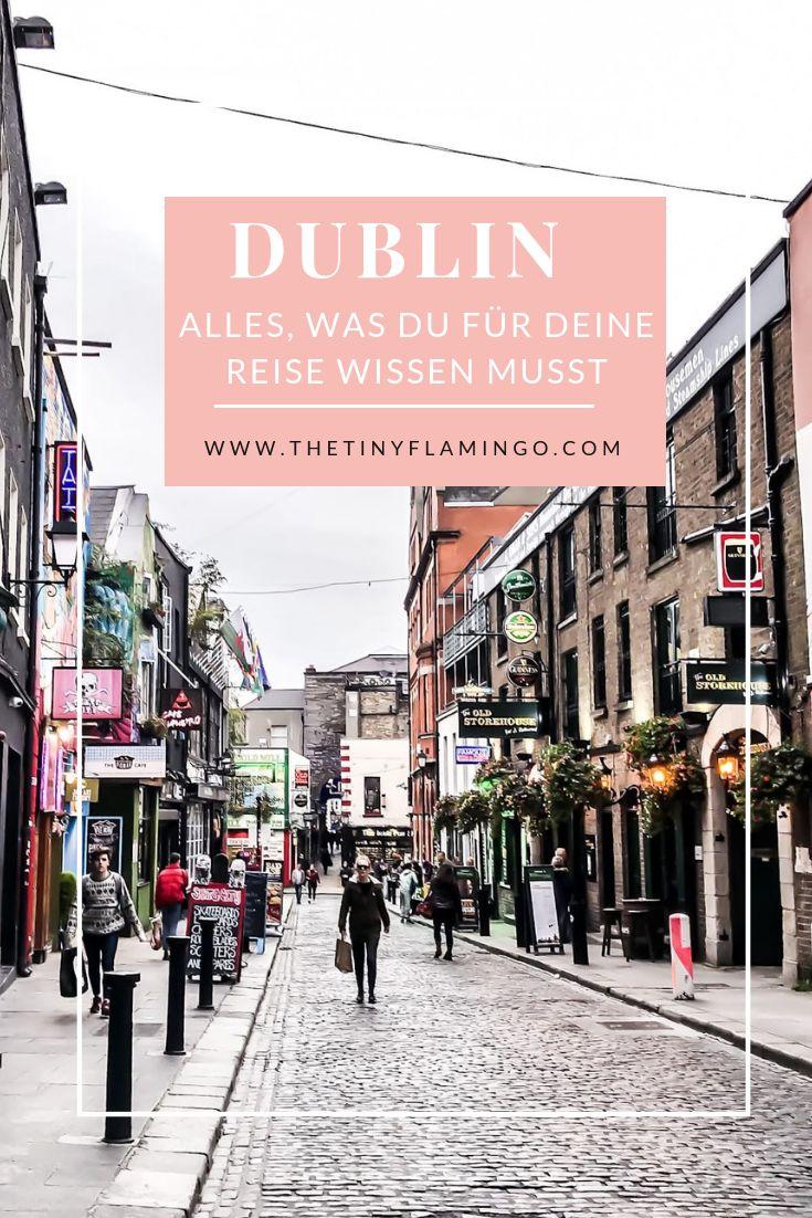 Dublin Tipps – Alles, was du für deine Reise nach Dublin wissen musst