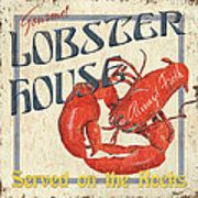Lobster House Art Print by Debbie DeWitt