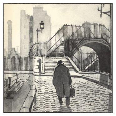 Le Paris du dessinateur Jacques Tardi - La ville des gens