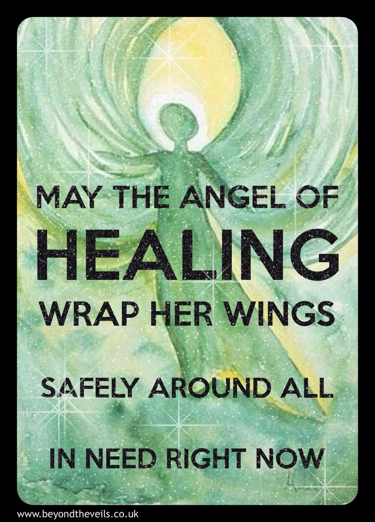 May the healing angel manifest for all., including myself and my heart, That is in need right now.