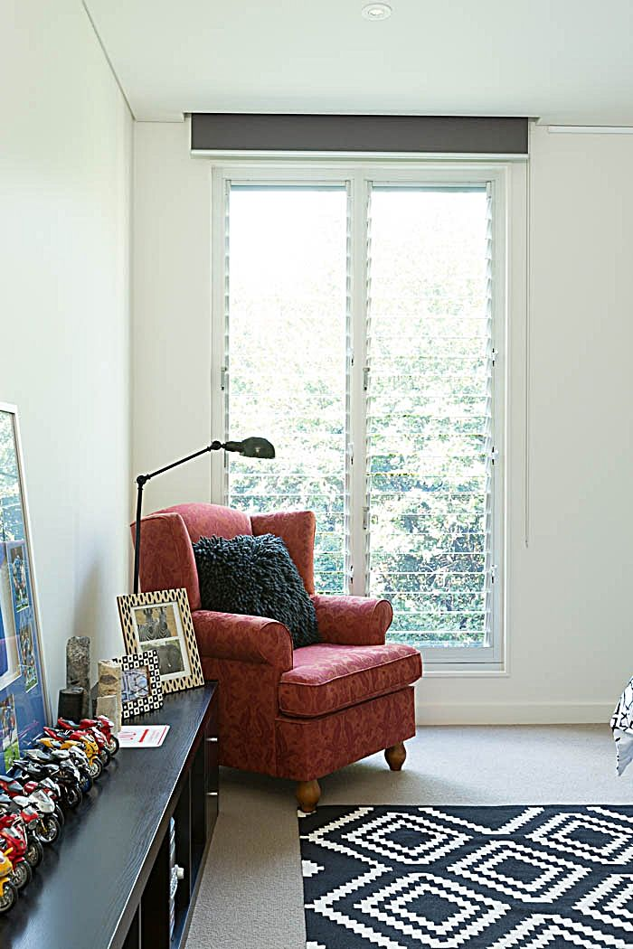 2 bay Breezway Louvre Window with 102mm glass blades - Option for bedrooms