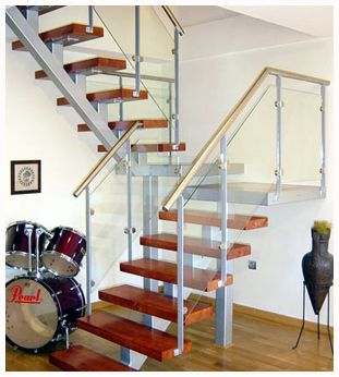 M s de 25 ideas incre bles sobre modelos de escaleras en for Escaleras metal madera para interiores