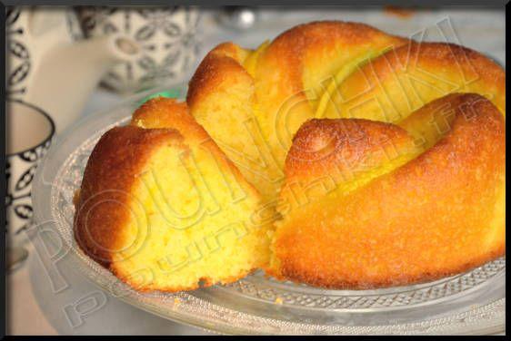 Le babka au citron, un gâteau polonais réalisé pour  Pâques