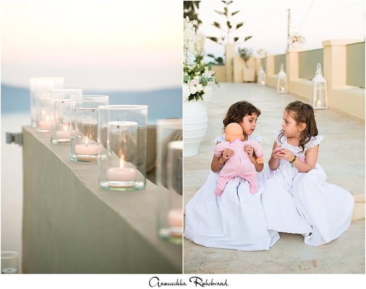 Destination wedding Greece & Austria part 1 { bruidsreportage La Maltese Santorini, Griekenland }