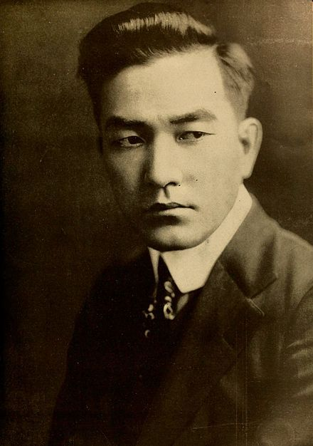 Sessue Hayakawa (1918) - first Asian leading man in Hollywood