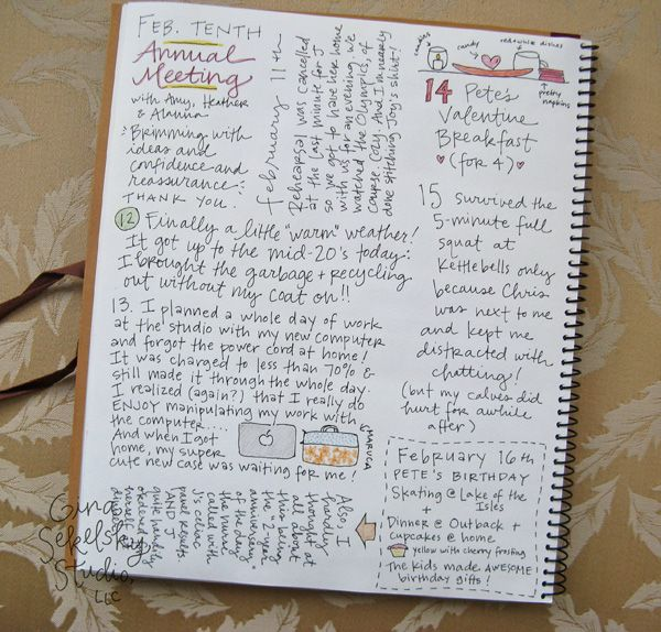 Daily Journal Project, week 7.