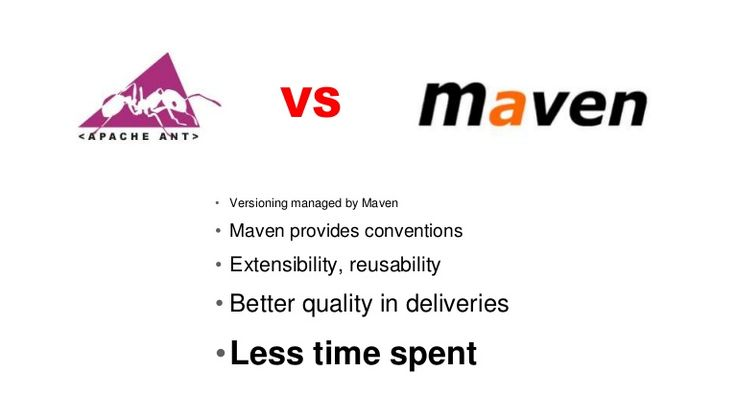 Do you know what is difference between Maven and ANT? Yes both are build tool but Maven is more than build tool, it provides dependency management, version management, standard convention and easier to use than ANT, which is also very powerful but not as easy as Maven and doesn't provide dependency management.
