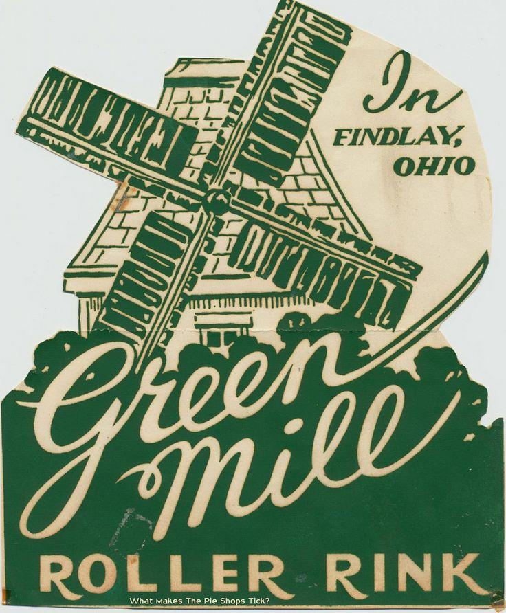 Green Mill Roller Rink Findlay, Ohio Roller rink