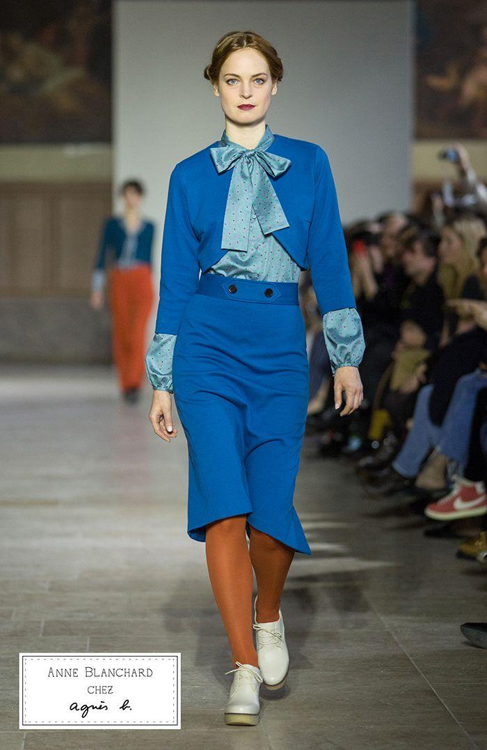 Agnes b fashion show 85