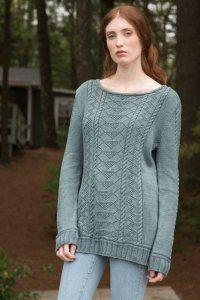 Berroco Modern Cotton Carra Pullover Knitting Women S Clothing