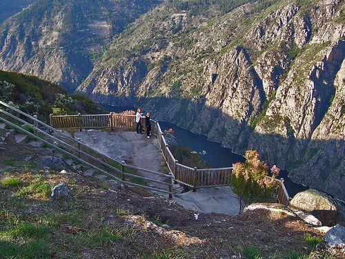 Mirador Balcones de Madrid en los cañones del río Sil