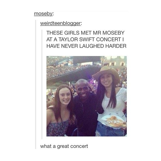 OH MY GOD IT'S MR MOSEBY!! THOSE LUCKY BITCHES
