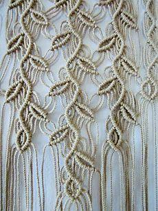 (11) Macrame Wall Hanging - Three Sprigs - Handmade Macrame Decor | Макраме Гобелены, Ручная Работа и Начтенные Гобелены
