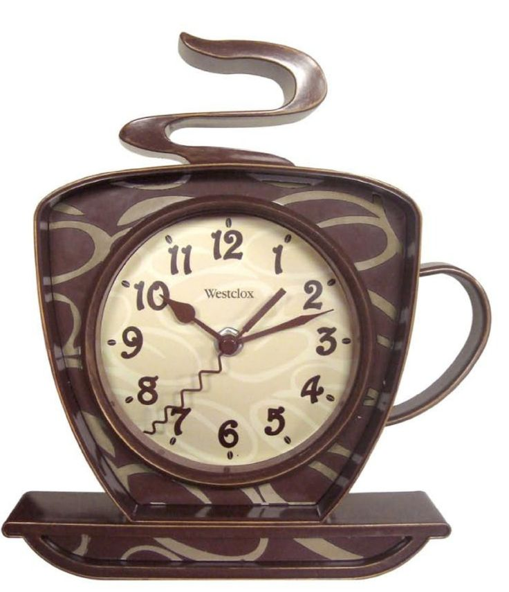 Best 25 coffee theme kitchen ideas only on pinterest - Wall picture clock decoration ...